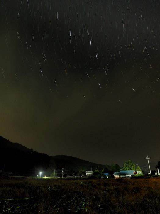 梅雨夜の微風